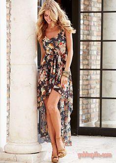 Модные платья маллет, mullet, короткое спереди, длинное сзади