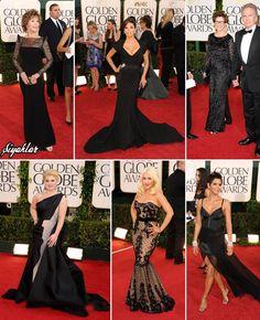 2011: Jane Fonda seçmiş-GEORGES HOBEIKA; Eva Longoria- ZAC POSEN; Annette Bening; Kelly Osbourbe-ZAC POSEN; Christina Aguilera- ZUHAIR MURAD ; Halle Berry-NINA RICCI