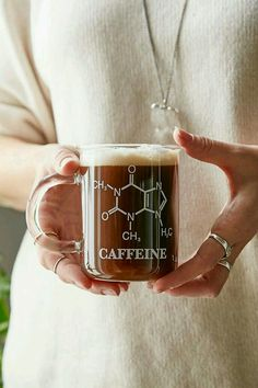 Imagem de caffeine, coffee, and chemistry Coffee Is Life, I Love Coffee, Coffee Break, My Coffee, Coffee Shop, Coffee Cups, Drink Coffee, Coffee Candy, Cool Mugs