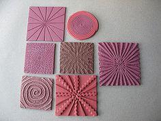 Helen Breil tutorial texture samples by Roberta Warshaw