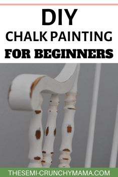 DIY - Chalk painting for beginners! How to become a pro at DIY upscaling furniture with chalk painting. #diyhomedecor #diyfurniture #furniturediy #chalkpaint #chalkpaintfurniture #chalkpainting #diyinspiration