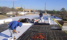Mena Associates - Katy, TX – TPO Retrofit #houstonroofing #dallasroofing #fsrservices