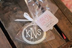 Rustic + Elegant Bridal Shower Ideas - party favors for the bridal shower guests. Spruce it up with #peartreegreetings favor tags.