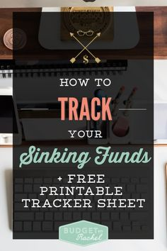 Sinking funds are the best way to have stress-free budgeting and eliminate unexpected expenses. Sinkng funds tracking is essential to success + get our free Money Saving Challenge, Money Saving Tips, Money Tips, Saving Ideas, Budgeting Finances, Budgeting Tips, Sinking Funds, Thing 1, Finance Organization