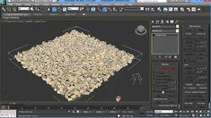 VrayPattern Tutorial #1 Making gravel with MultiScatter