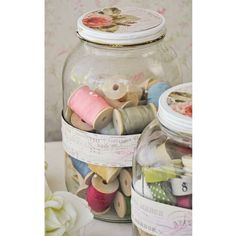 Jars of Spools