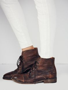 Faryl Robin + Free People Fellow Lace Up Boot at Free People Clothing Boutique
