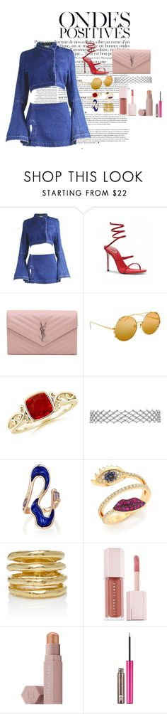 """""""Untitled #182"""" by xoutfiter ❤ liked on Polyvore featuring Anja, Alexander McQueen, Yves Saint Laurent, Linda Farrow, Fernando Jorge, Delfina Delettrez, Wasson, Puma and Urban Decay"""