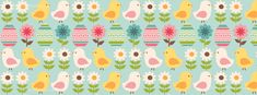 happy-easter-chick-flower-pattern-facebook-timeline-cover