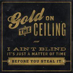 The Black Keys - Gold on the Ceiling Art Print