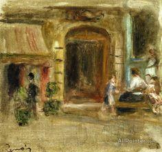 Pierre Auguste Renoir Rue Caulaincourt oil painting reproductions for sale