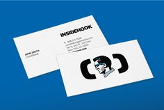 Insidehook by RED ANTLER , via Behance Presentation Cards, Visual Identity, Antlers, Behance, Branding, Cards Against Humanity, Logos, Paper, Ice Cream