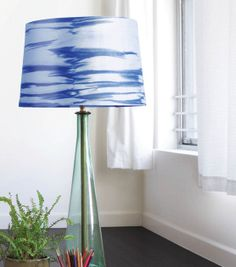 Sunfold Lamp Shade made with Inkodye from @Lumi