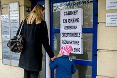 Les grèves et manifestations des médecins contre le tiers payant généralisé expliquées aux enfants.