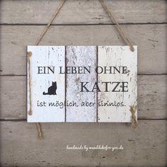 Shabby Vintage Schild Türschild Holz EIN ZUHAUSE OHNE WINDHUND IST NUR EIN HAUS