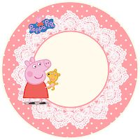 Peppa Pig and Family: Free Printable Party Kit. in english Peppa Pig Happy Birthday, Pig Birthday Cakes, Girl 2nd Birthday, Peppa Pig Funny, Peppa Pig Teddy, Pig Party, Party Kit, Party Printables, Free Printables