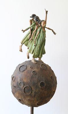 De Keyzer De Keyzer, Kleine Reisleidster, Sculpture