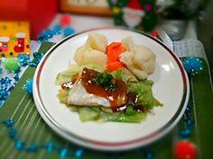 ガリバタチキンレース3メニュー目です - 38件のもぐもぐ - 蒸し魚のガリバタカレーソース by houzantei