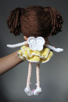PATTERN: Princess Laina Amigurumi Doll