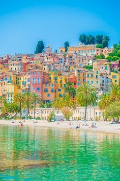 The French Riviera: 4 Colorful Villages Off The Beaten Path, TRAVEL, Discover these 4 amazingly beautiful seaside towns off the beaten path that should totally be on your French Riviera bucket list! Seaside Towns, Beautiful Places To Travel, South Of France, Travel Aesthetic, France Travel, Cabana, Travel Posters, Dream Vacations, Places To See