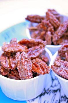 Roasted & Candied Pecans | Krissy's Creations