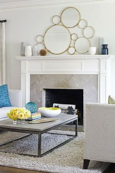 From modern to traditional, check out these top fireplace mantle and fireplace design ideas to create a custom fireplace in your living room decor.   Repin this post and click through to read the full article.