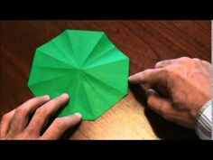 How to Make an Origami UFO