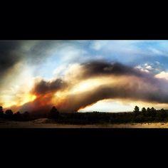 colorado fires via instagram