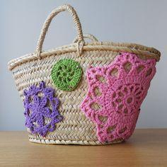 Doilly beach bag by marietavigil, via Flickr