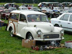 Vintage Car - Morris Minor Traveller [CFA 376C] 110710 Leighton Hall