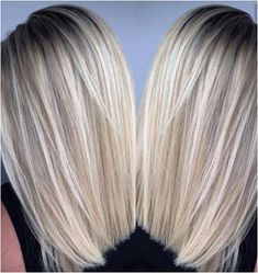 To Achieve completely brass-free HEALTHY light Blonde hair as you see here: I believe in using only our Oil Bleach Lightening Kit in the Violet/Blue Base. Why? Gentle and it creates an icy finish with unreal violet blue base I have developed.