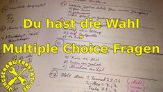 Du hast die Wahl - Multiple Choice Fragen