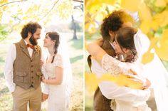 Autumn Rustic Wedding: Amy + Nate   Green Wedding Shoes Wedding Blog   Wedding Trends for Stylish + Creative Brides