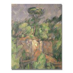 "Paul Cezanne ""Bibemus Quarry"""