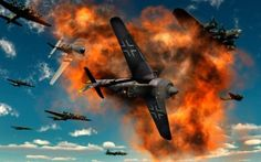 aerial dogfight Stock Photos, aerial dogfight Stock Photography, aerial dogfight Stock Images : SuperStock