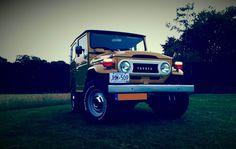 Toyota LandCruiser FJ40 BJ42 Photo shoot on 03-07-2015 Toyota #LandCruiser #FJ40 #BJ42 #BJ40 #Vintage #Vintage4x4 #Restored #MustardYellow