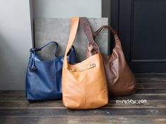 936 Big Leather Bags Combo PDF Pattern - 20% Off!