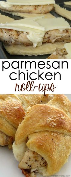 Parmesan Chicken Roll Ups Chicken Roll Ups Crescent Rolls: Looking for an easy chicken dinner idea? These Parmesan Chicken Roll Ups will be one of your favorite easy chicken recipes. Great Recipes, Favorite Recipes, Easy Recipes, Spicy Recipes, Easy College Recipes, Quick Easy Chicken Recipes, Soup Recipes, Chicken Strip Recipes, Budget Recipes