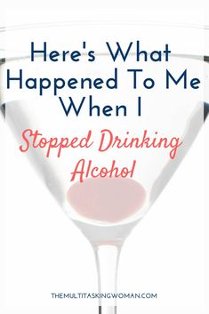 What happens when you stop drinking alcohol? I share my experience after 36 days sober and how you can experience the profound effects too. Quit Drinking Alcohol, Quitting Alcohol, Giving Up Drinking, How To Stop Drinking, Healthy Mummy Smoothie, Addiction Recovery, Addiction Therapy, Addiction Quotes