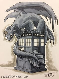 I train dragons now. Dragons are cool. Looks like the Doctor regenerated a little differently this time