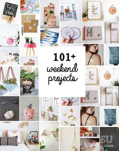 Poppytalk: 101 Awesome Weekend DIY Projects to Bookmark!