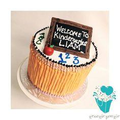 Custom  Kindergarten Cake