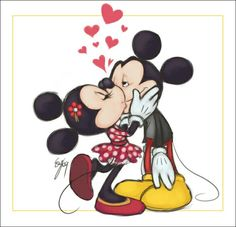 HD Mickey And Minnie Mouse Cartoon / Wallpaper Database Disney Mickey Mouse, Mickey Mouse E Amigos, Minnie Y Mickey Mouse, Retro Disney, Mickey Love, Mickey Mouse And Friends, Mickey And Minnie Kissing, Baby Mickey, Wallpaper Do Mickey Mouse