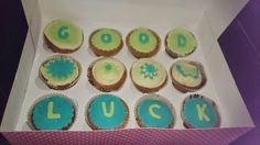Good luck cakes.
