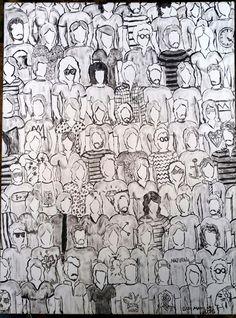 Gui Mancini 2016 Diversidade Preto e Branco Diversity Black and White #art