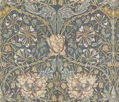 Reconstruction adapted from a William Morris print provided with permission from Dover Publications