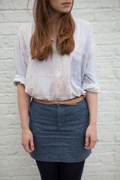 Moss #Skirt Take 1 by Lemlina | Project | #Sewing / Skirts | #Kollabora