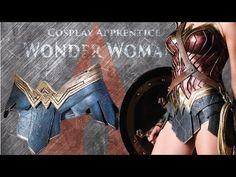 Wonder Woman Cosplay - How to make Wonder Woman Gladiator Skirt - YouTube