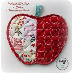 Charise Creates: Gift Sewing and a New Pattern - Orchard Hot Pad!