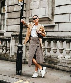 15 of the Best Skirt-and-T-Shirt Outfits | Who What Wear